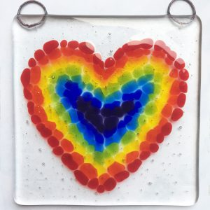 Rainbow Glass Hanger Kit